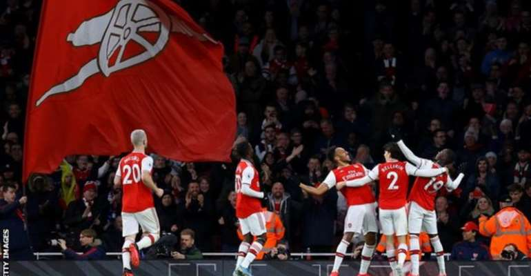Arsenal have not played in the Champions League since 2016-17
