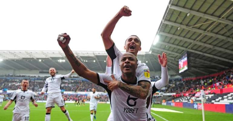 Coronavirus: Andre Ayew To Accept Pay Cut At Swansea City