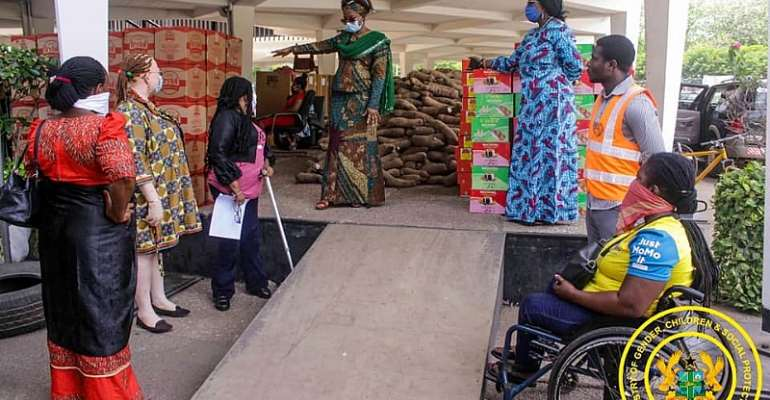 Persons With Disability Get Government Support During Lock down