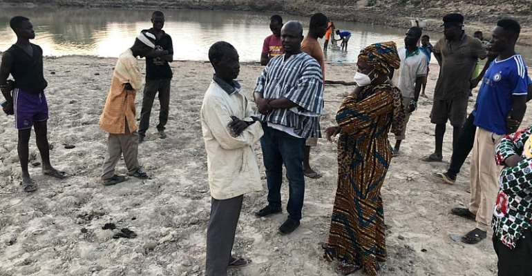 Salaga South: MP pays working visit to dredging and dam reconstruction site