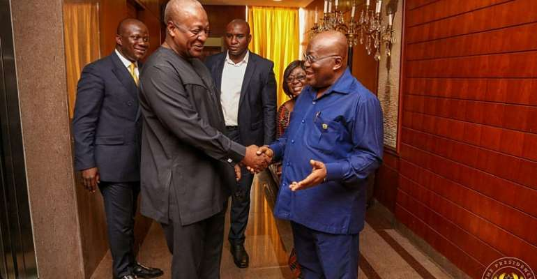 Let's face it, Akufo-Addo's predecessor didn't build a solid economic foundation, did he?