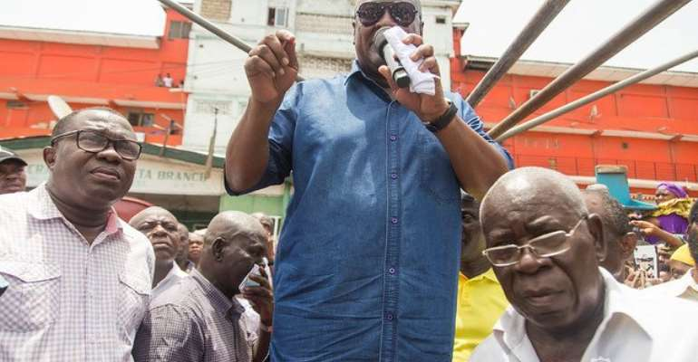 Mr. John Mahama says, the next NDC administration will scrap the tax if government doesnot abolish it before 2020.