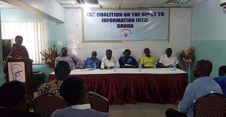 Expedite Action On Right To Information Bill--Coalition