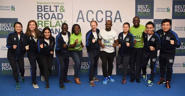 Standard Chartered Belt & Road Relay Launched