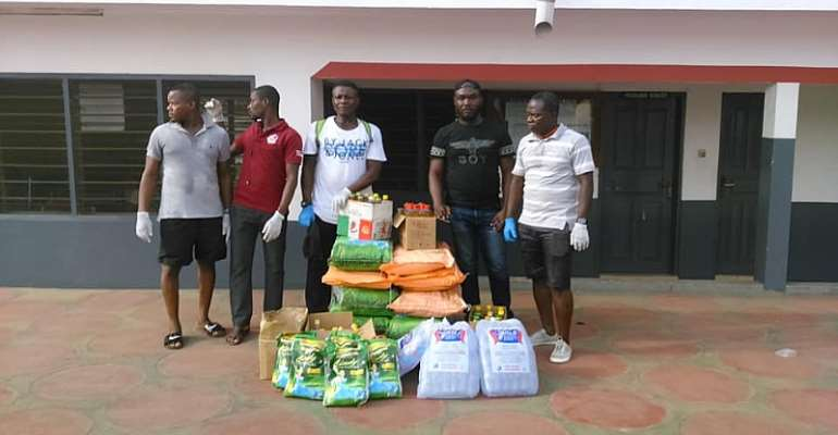 Pro Fighting Factory Ghana Donates To The Elderly At La