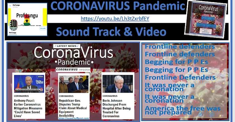 Prof Lungu Dedicates Coronavirus Pandemic Song and Video to Frontline Defenders | Watch