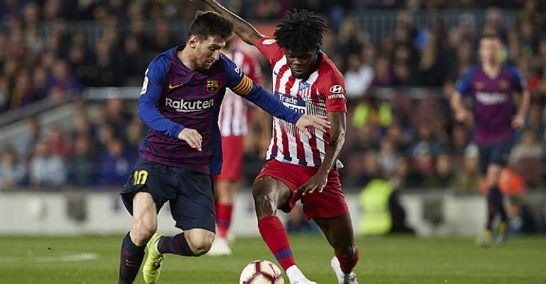 Ghana Midfielder Thomas Partey Beats Lionel Messi In New La Liga Ranking