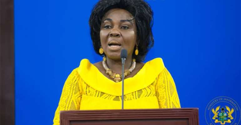 The Establishment Of The Ministry Of Sanitation And Water Resources Was In The Right Direction — Cecelia Abena-Dapaah