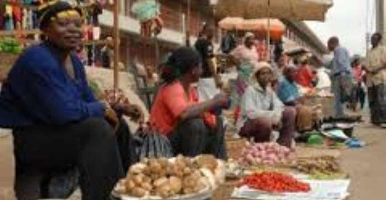 COVID-19: Sunyani Central Market Decongested
