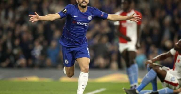 Chelsea Hold Off Spirited Slavia Prague To Reach Europa League Semi-Finals