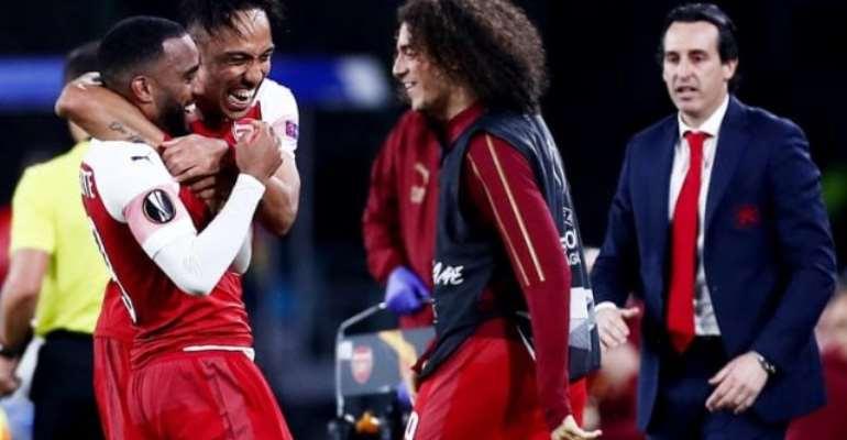Superb Lacazette Free-Kick Takes Arsenal Into Europa League Last Four