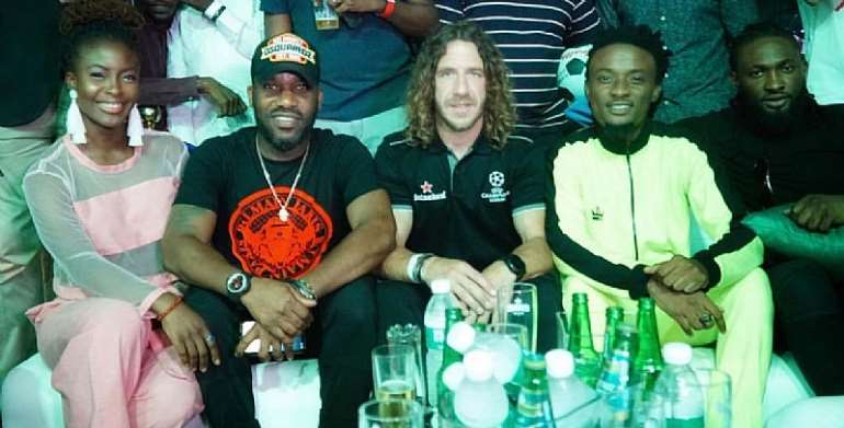 Heineken's Lush Lagos Party Wraps Up UEFA Champions League Tour