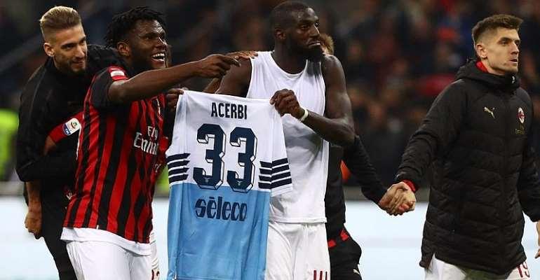 Milan Fined €86 000 For Kessie, Bakayoko Shirt Prank