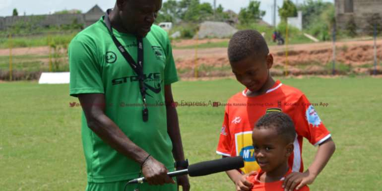 My Dad Is Doing Very Well At Kotoko, Says C. K. Akonnor's Son
