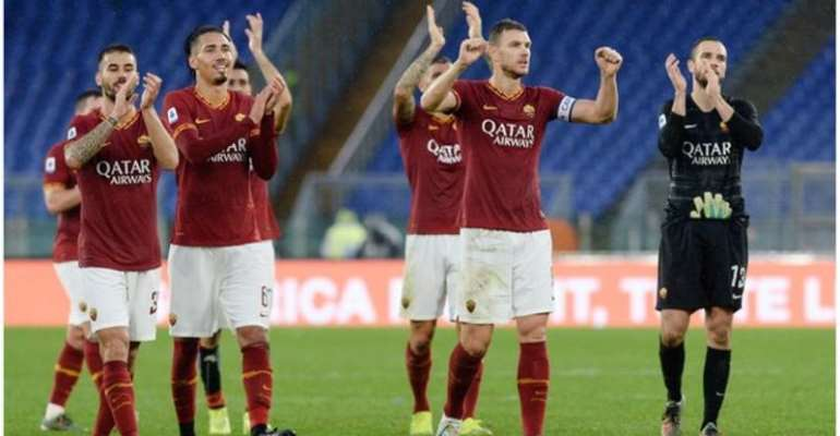 Roma have not played since 1 March
