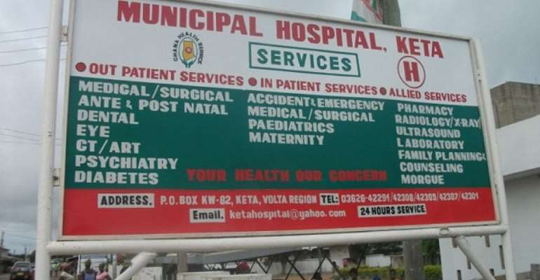 COVID-19: Keta Municipal Hospital Begs For PPEs, Other Logistics