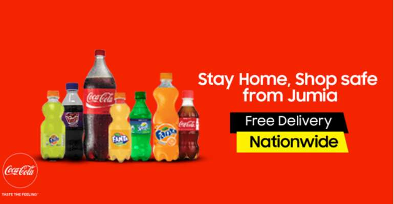 COVID-19: Jumia Partner With Coca-Cola Bottling Company To Serve Communities In Ghana