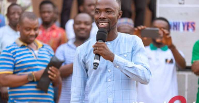 Select An MP Who Understands Cocoa Business—Stephen Donkor To Constituents