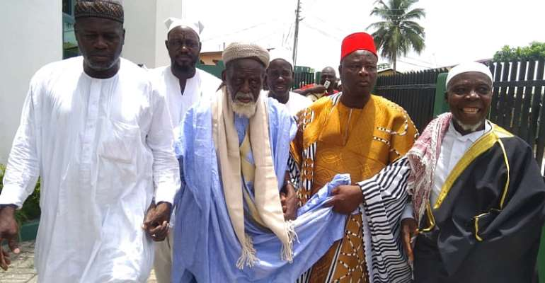 Chief Imam Joins Chief Kabore To Mark 10 Years Of Enskinment