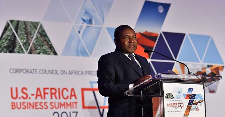 H.E. Filipe Nyusi, President of the Republic of Mozambique