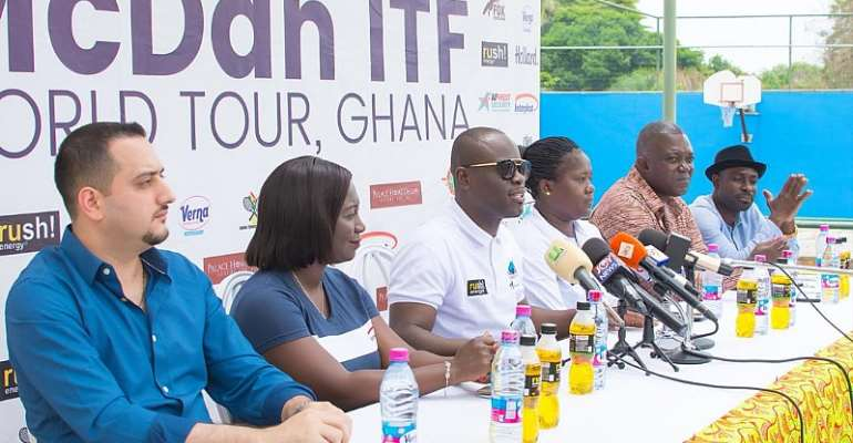 Tennis: McDan ITF World Tour Launched