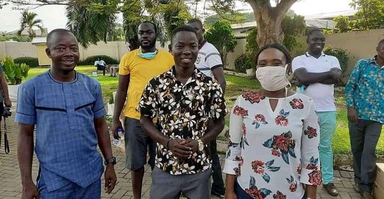 Abena Osei-Asare Gives 300 Bulbs To Lighten 16 Communities in Atiwa East Constituency