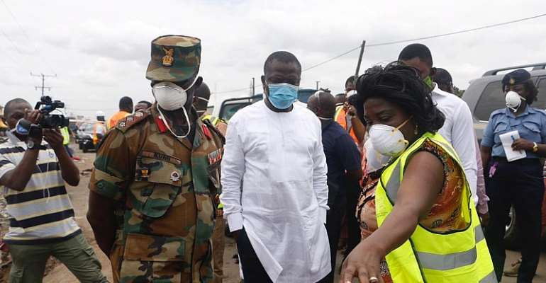 Minister Commends Zoomlion, Security Forces Over 3-Day Deep Cleaning Of Accra
