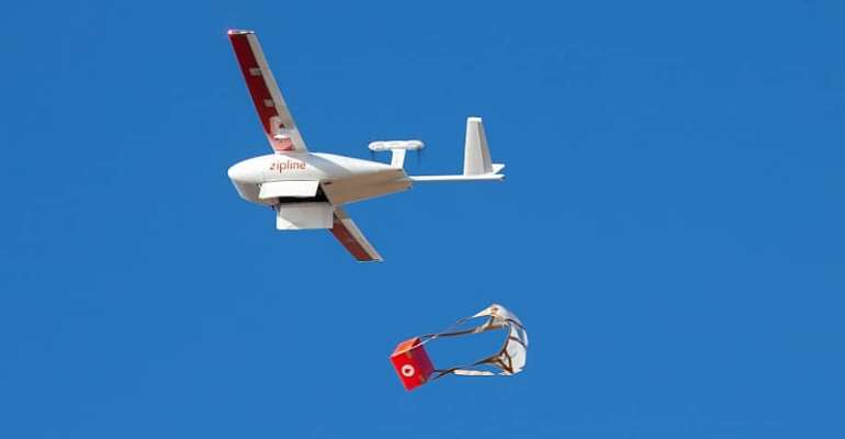 COVID-19: Akufo-Addos Says Drones Transporting Samples For Testing