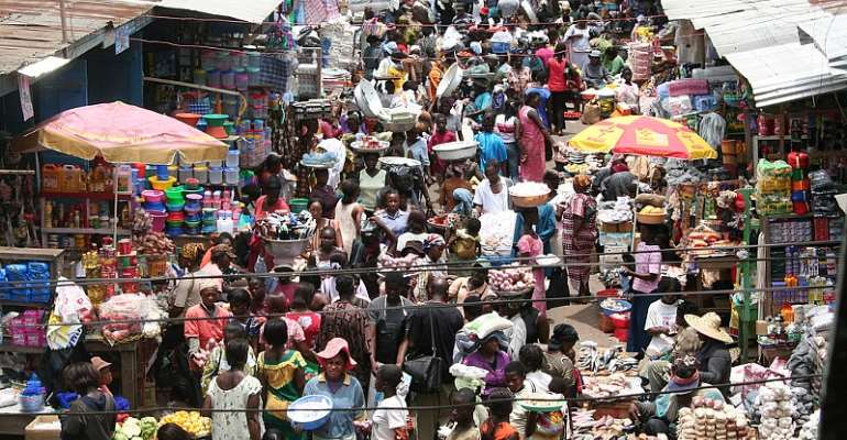 Covid-19: Kumasi Central Market Closed Hours After Opening Over Congestion, Failure To Wear Face Mask