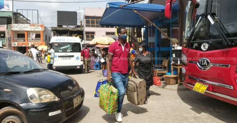 Kumasi: Long-Distance Travels Begin After Lifting Of Lockdown