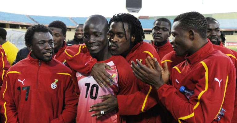 Issues Were Properly Managed At Black Stars Camp During Our Playing Days - Stephen Appiah