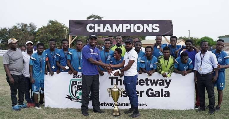 Betway Easter Gala Winners Awarded