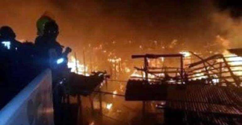 KMA Pledges To Support Victims Of Kumasi Central Market Fire Outbreak