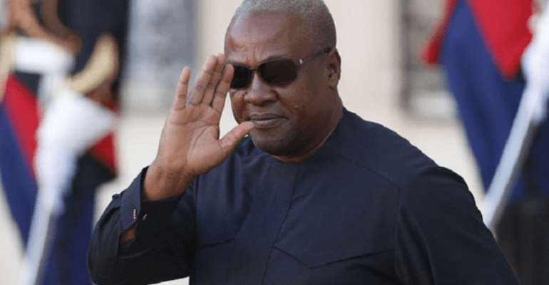 John Dramani Mahama, Flagbearer of the opposition NDC