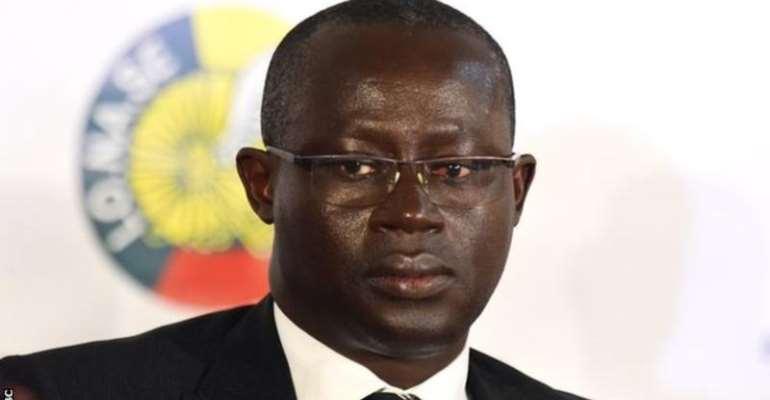 Augustin Senghor, president of Senegal's football federation.