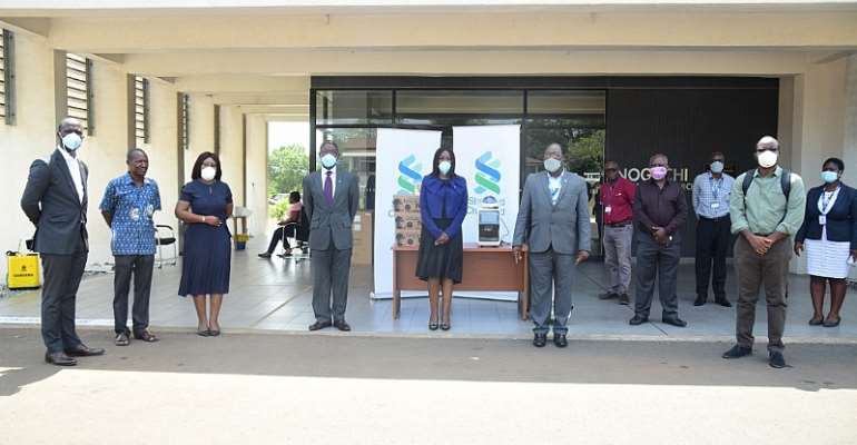 Standard Chartered Supports Noguchi & The Greater Accra Regional Hospital