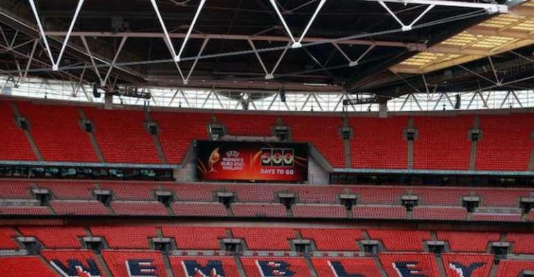 Wembley Stadium will host the Women's European Championship final