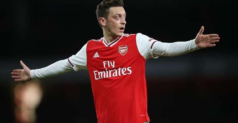 Mesut Özil vom FC Arsenal  Image credit: Getty Images