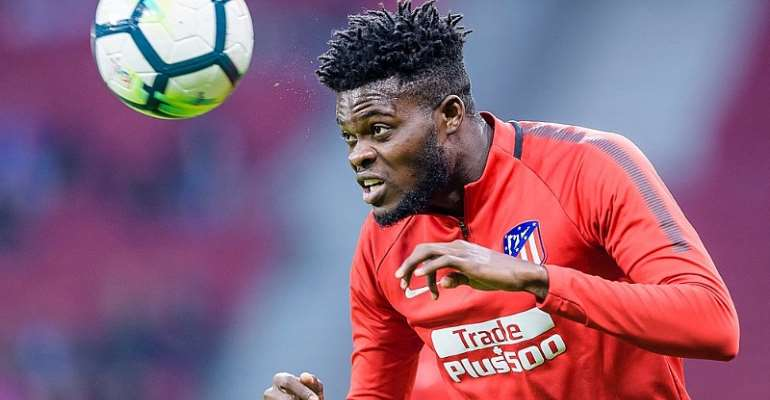 Atletico Madrid fighting to keep Thomas Partey away from Arsenal