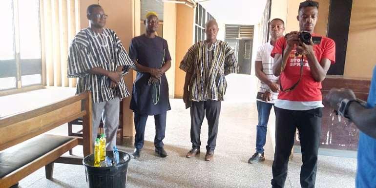 GBC URA Radio Gets Hand Washing Facility