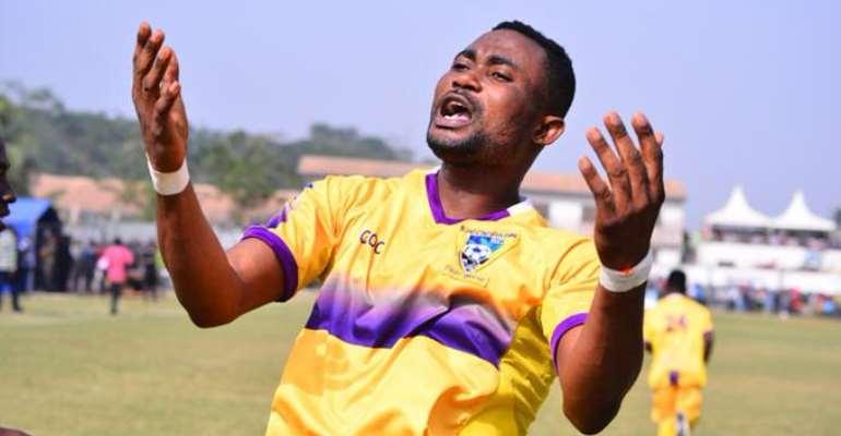 Medeama SC striker Prince Opoku Agyemang