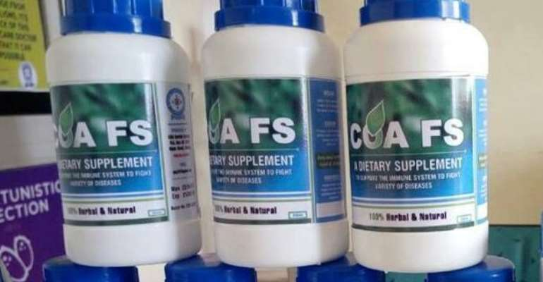COA FS Products Not Contaminated – Manufacturers Fights FDA