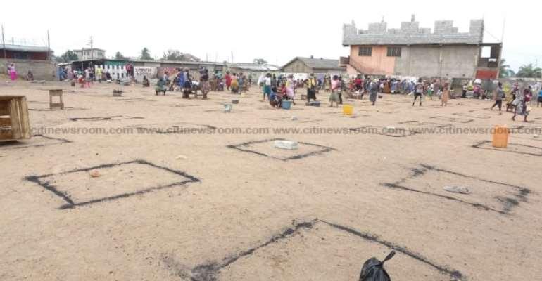 N/R: Saboba Market Extended To Enforce Social Distancing
