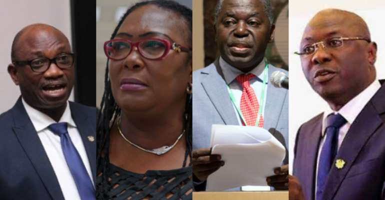 Akufo-Addo maintains eight deputy minister-nominees