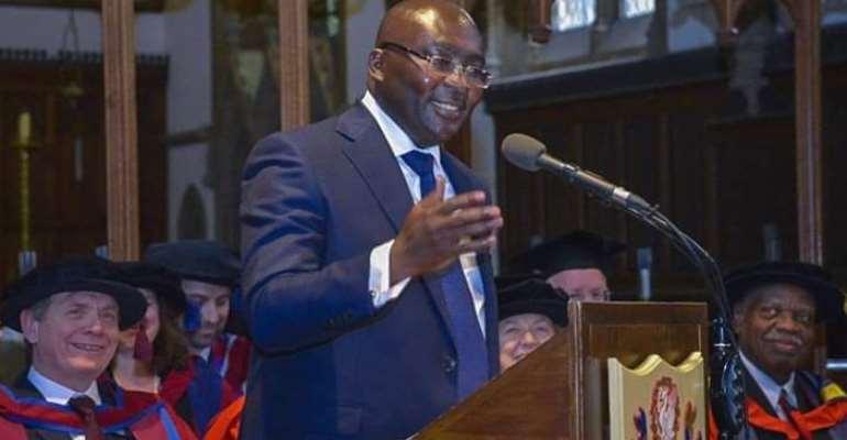Dr. Mahamudu Bawumia, Vice-President of The Republic of Ghana