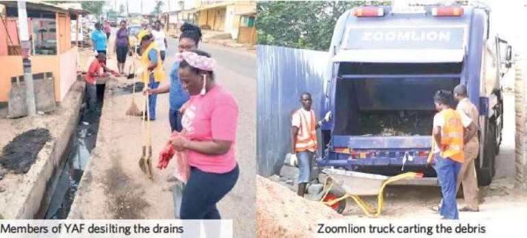 Zoomlion, Nativity YAF Clean Up La