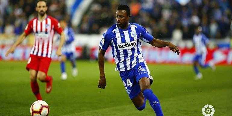 Patrick Twumasi Eyes Regular Game Time At Deportivo Alaves