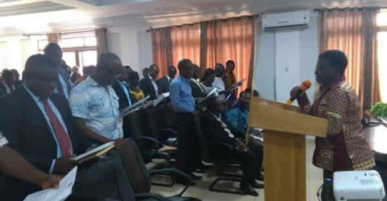 Director of Internal Audit at the Ghana Health Service, Kwabena Hemeng-Ntiamoah