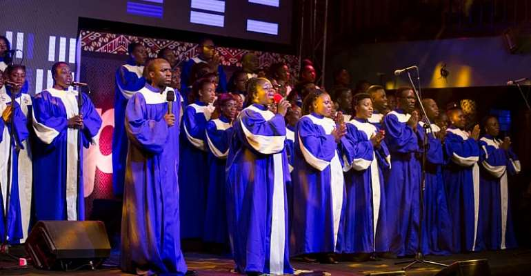 Bethel Revival choir showing the way?