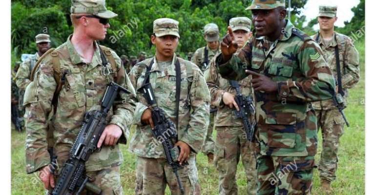 Ghana, US Soldiers Tackle Covid-19